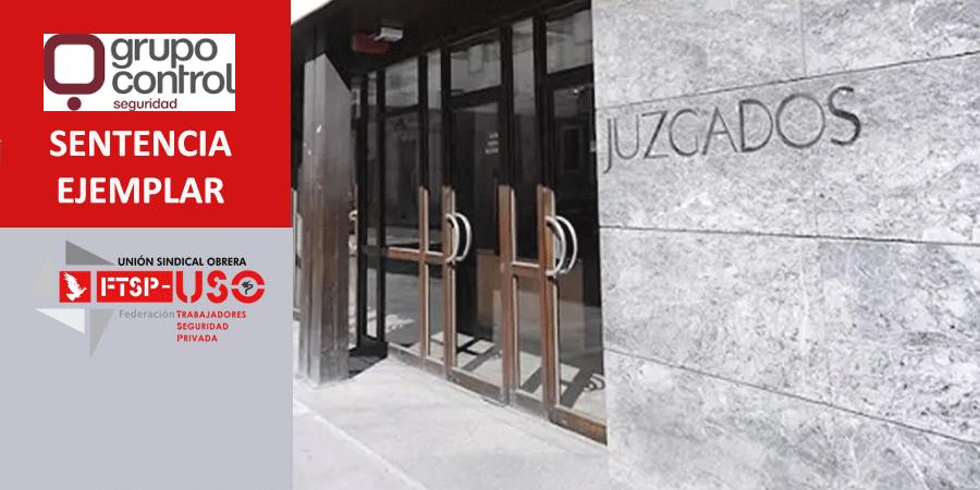 Grupo Control (…) ¡O readmisión o indemnización de 35.258,40€ a un trabajador despedido injustificadamente!